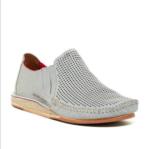 1644fbb5331 OluKai Ali I  Elua Slip On Loafer Shoe Blue 13